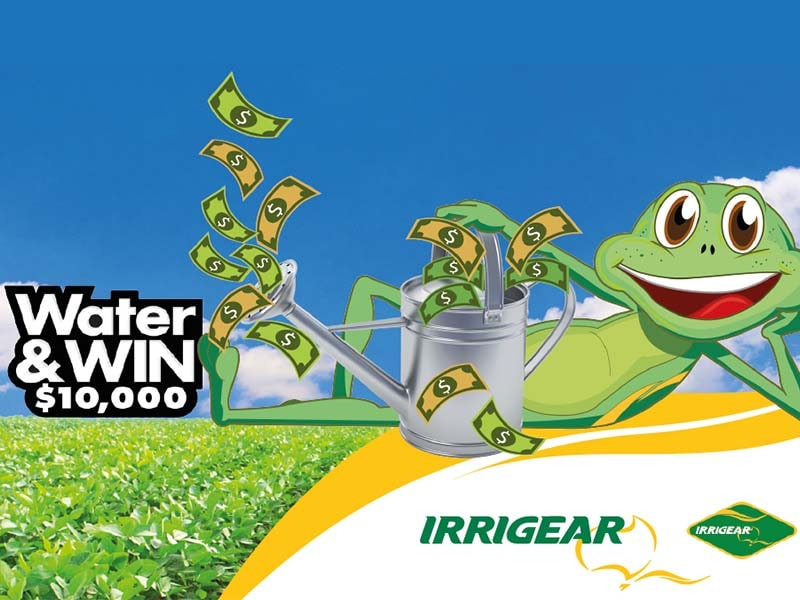 WATER and WIN with Malvern Irrigation and Irrigear