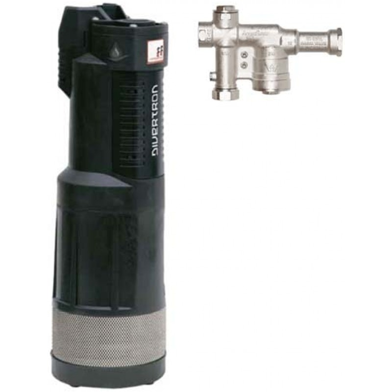 DAB Divertron 1200 Pump with 1 Inch Aquasaver Valve