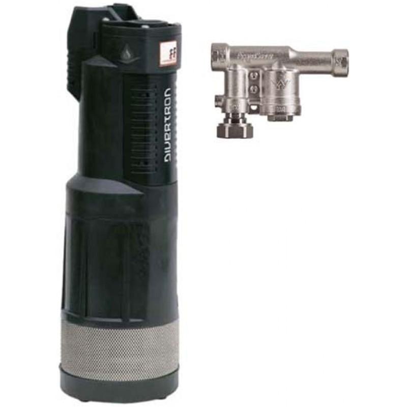 DAB Divertron 1200 Pump with 1.09 cm Aquasaver Valve