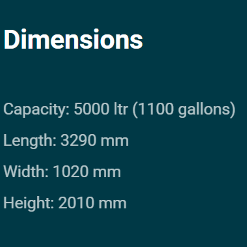 5000 dimensions