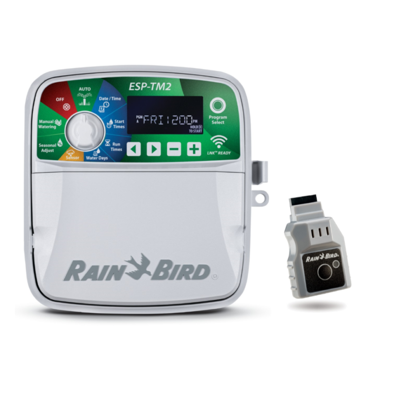 Rain Bird ESP-TM2 Series Controllers with Wi-Fi Lnk