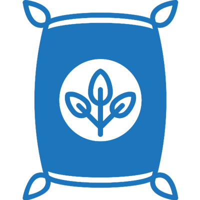 Seed and Fertiliser Icon