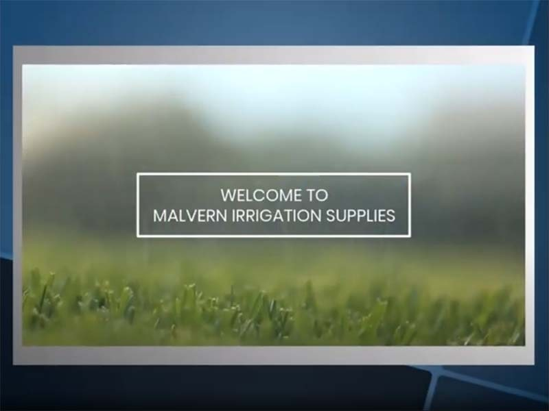 Welcome to Malvern Irrigation Supplies