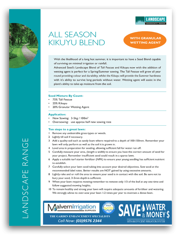 All Season Kikuyu Brochure