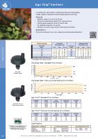 Antelco Agri Drip Emitters Brochure