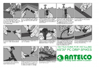 Antelco Asta Drip Installation Manual