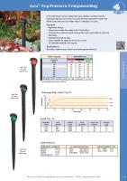 Antelco Asta Drip Pressure Compensating Brochure