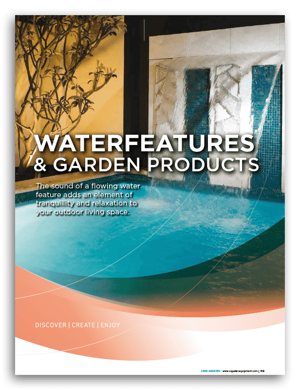 AquaEDGE Waterwall Book