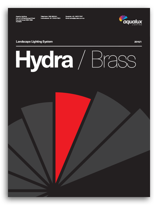 Aqualux Hydra Booklet