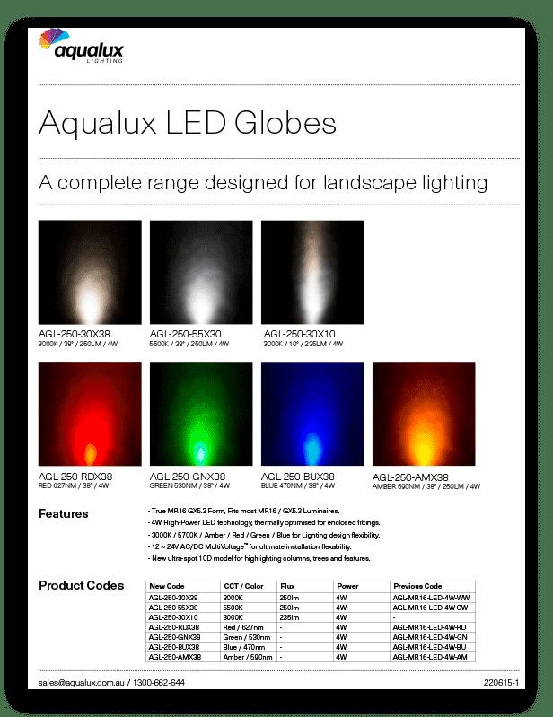 Aqualux LED Globes