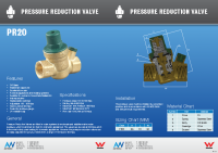 Brass Adjustable Pressure Reg Brochure