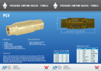 Brass Fixed Pressure Reg Brochure