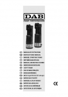 DAB Divertron 1200 Manual