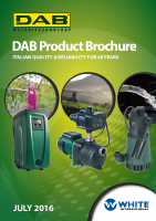 DAB Pumps Product Brochure