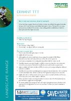 Defiant TTT Ryegrass Brochure
