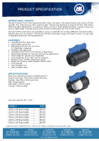 Hansen Ball Valve Brochure