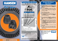 Hansen Foot Valve Brochure