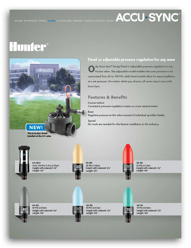 Hunter Accu Sync Brochure