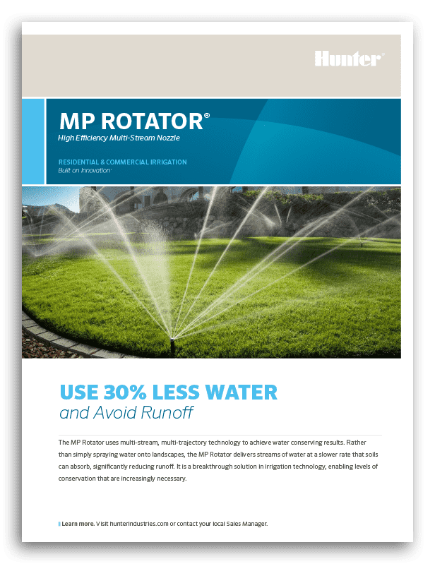 Hunter MP Rotator Brochure