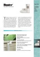 Hunter Rain Clik Brochure