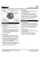 Hunter SRM Manual