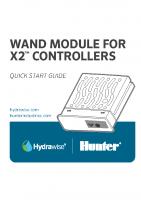 Hunter X2 WAND Quick Guide