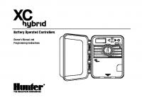 Hunter XC Hybrid Manual