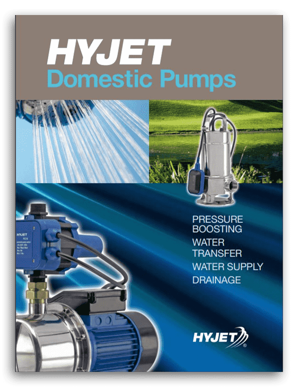 Hyjet Domestic Pumps Brochure