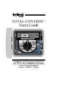 Irritrol Total Control R Series Manual