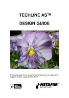 Netafim Techline Manual