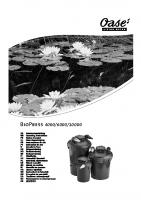 Oase Biopress Manual