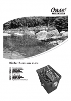 Oase Biotech Premium 80000 Manual