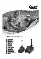 Oase Filtral Manual