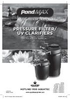 PMAX PF Pressure Filter Instructions