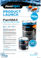 PondMAX Launch PaintMAX