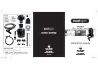 PondMAX PV350L Instructions