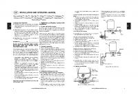 Pressure Wave Tanks Manual