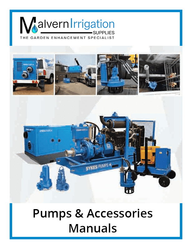 Pumps and Accessories Manuals