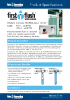 Rain Harvesting First Flush Manual
