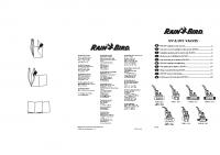 Rainbird DVF Manual