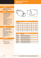 Spears PVC Check Valve Brochure