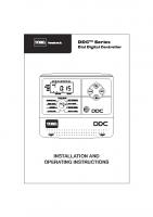 Toro DDC Manual