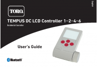 Toro Tempus DC Manual