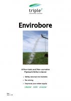 Triple 7 Envirobore Application Sheet