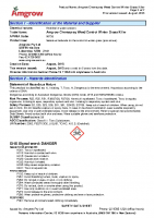 Winter Grass Killer MSDS