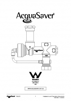 1 Inch AquaSaver Manual