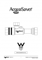 3.4 Inch AquaSaver Manual