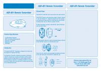Aquatran AQR Instructions