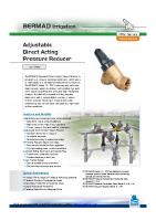 Bermad Pressure Reg Brochure