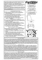Earthway 1950 Manual